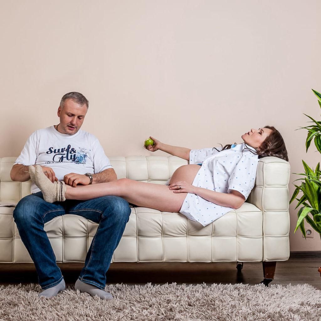 как расслабиться на фотосессии, фотосессия беременности с мужем
