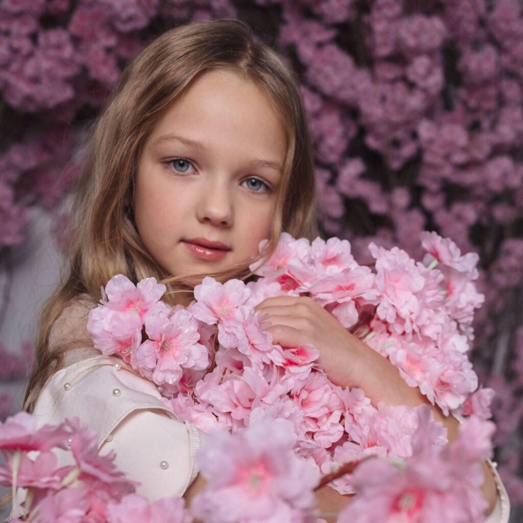 студийная фотосессия детская, девочка. советы для первой фотосессии