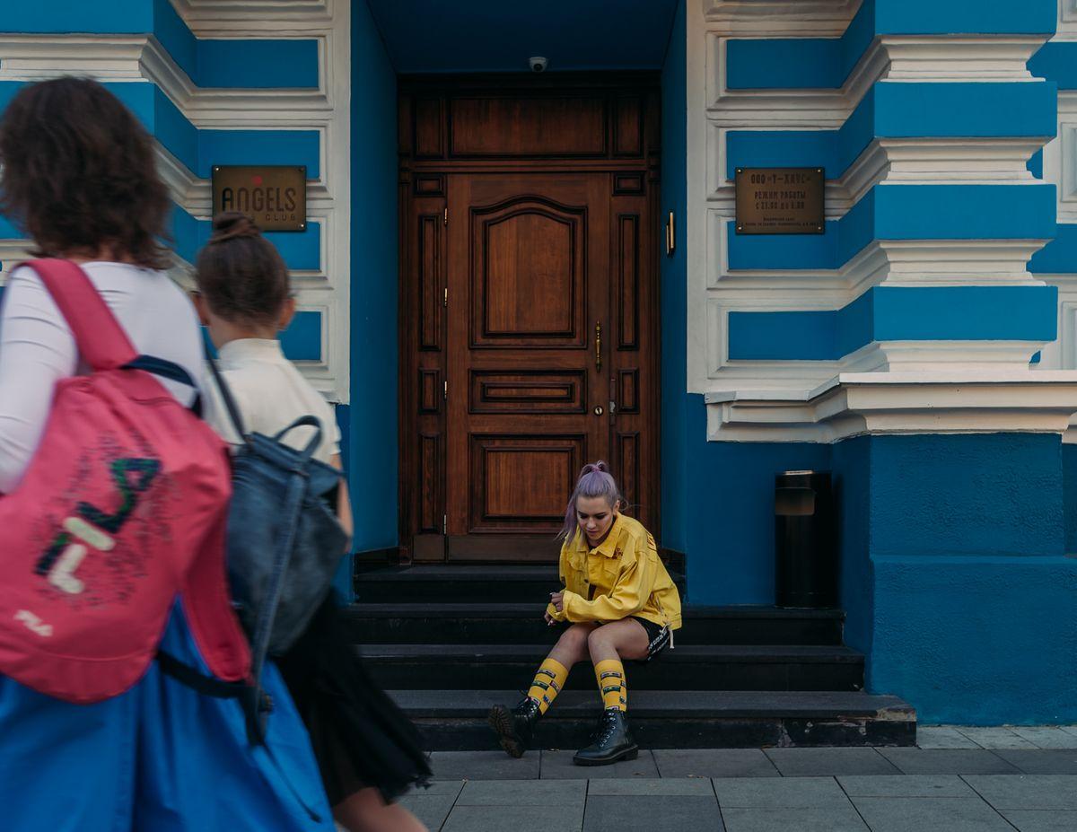 yellow женская фотосъёмка